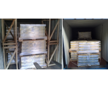 Wooden crates were used to 'fix' the goods in the container. These crates have been used only for f space filling rather than securing. Therefore, this load securing method is not comply with any national and international regulations.