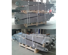 The main point was to create the loading unit from excavator's subassembly, and also to maximizing stowage.